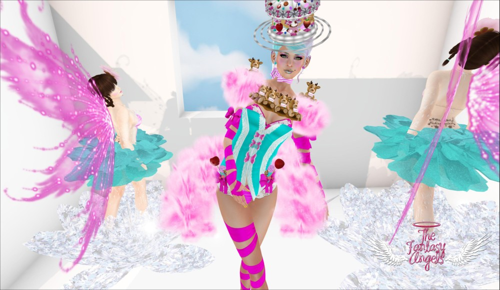 LAMU - Cotton Candy for The Fantasy Angels event – by PetraLAlexander©™
