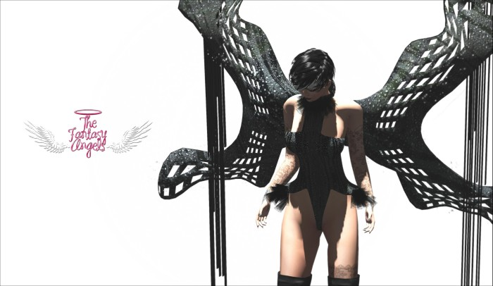 RAPTURE - Black Queens for The Fantasy Angels event  – by PetraLAlexander©™