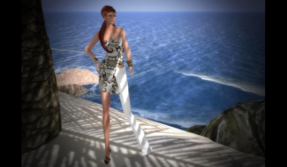RAPTURE™ - Dress with Pant Leg – by PetraLAlexander©™