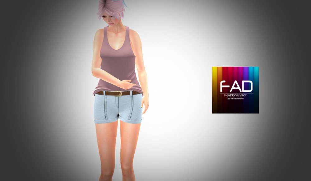 TRINITE - Tanks and Shorts - for FAD event – by PetraLAlexander©™
