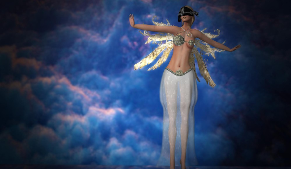 Lybra - TAY HELMET @ EVENT@1ST; Fantasy Angel Tyra – by PetraLAlexander©™