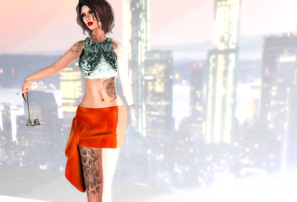 RAPTURE™ - Bekleed Top and Sack Skirt by PetraLAlexander©™