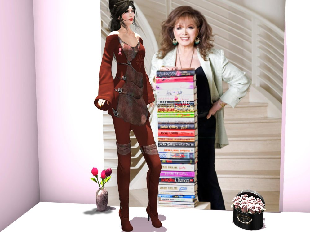 EVER AN' ANGEL for ROCK YOUR RACK event, COMING SOON. THIS POST IS DEDICATED TO JACKIE COLLINS – by PetraLAlexander©™