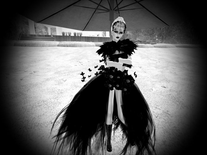 RAYNE COUTURE - WOMAN IN BLACK for BOSL IFW – by PetraLAlexander©™