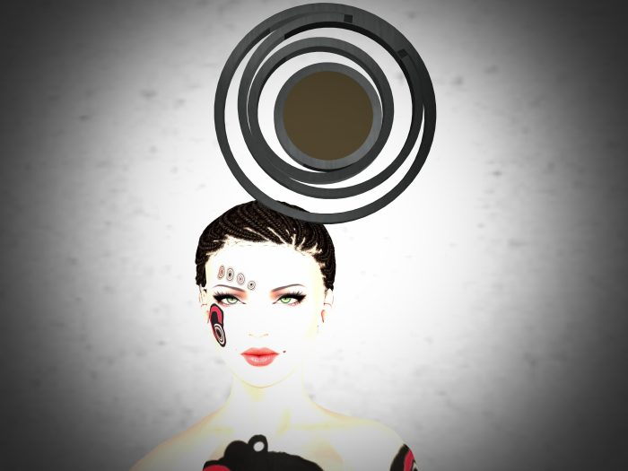 VALSNIA - CIRCLE HAT 1 for Art in Hats 2015 – by PetraLAlexander-Valerian©™