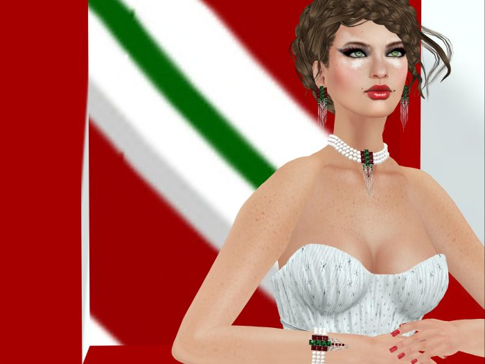 1ZURI RAYNA - CANDY CANE CHRISTMAS for TEAM DIABETES OF SECOND LIFE – by PetraLAlexander-Valerian©™