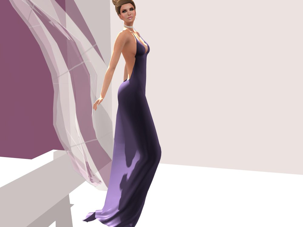 SAGE - Glam Gown for FAD Fashion Event – by PetraLAlexander-Valerian©™