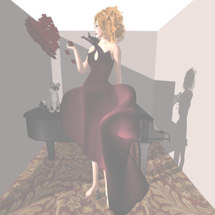 RAPTURE™, Dulce Secrets, {MUA} and BluPrintz for SWANK Feb Event – by PetraLAlexander-Valerian©™