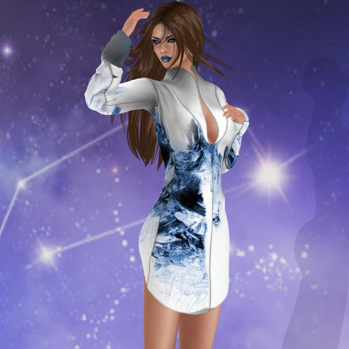 RAPTURE™ - Lion dress – by PetraLAlexander-Valerian©™