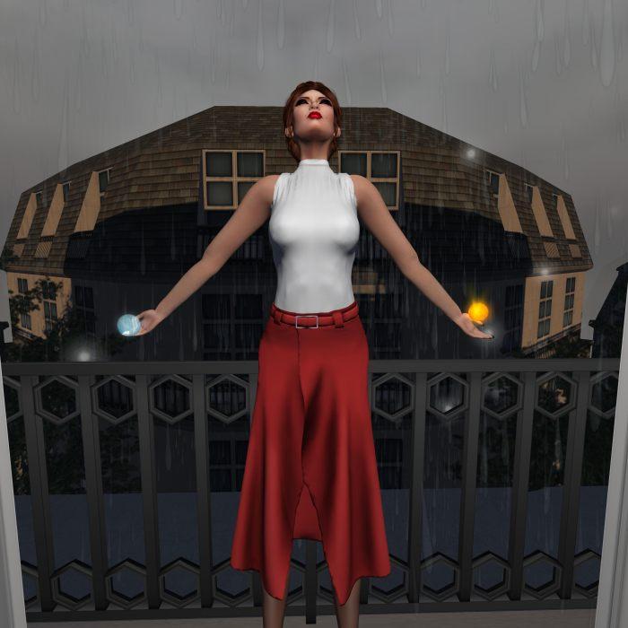 ME SEW SEXY - Summer Tank Skirt for Cosmopolitan by PetraLAlexander-Valerian©™