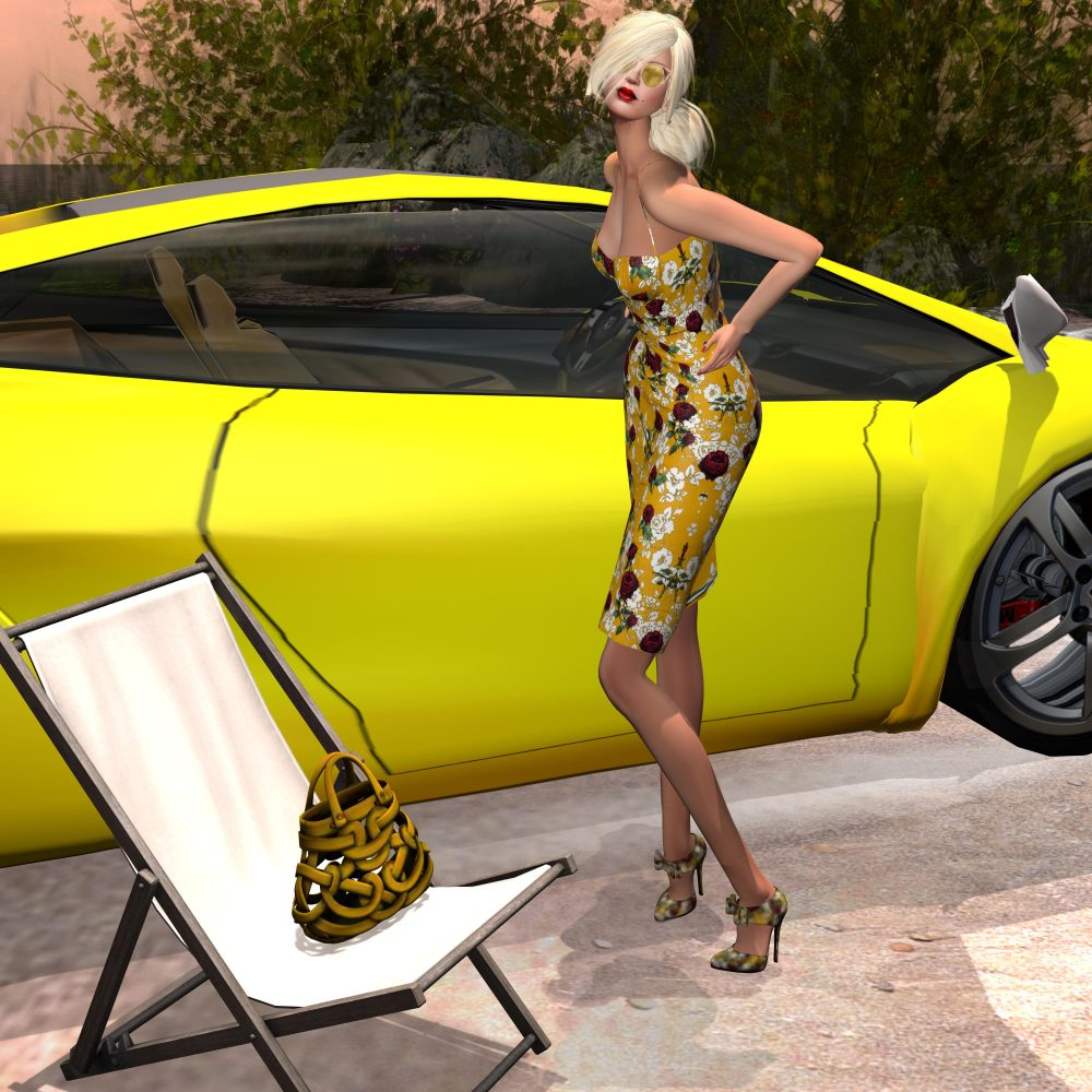 Amarelo Mango – Debora Set - by PetraLAlexander-Valerian©™