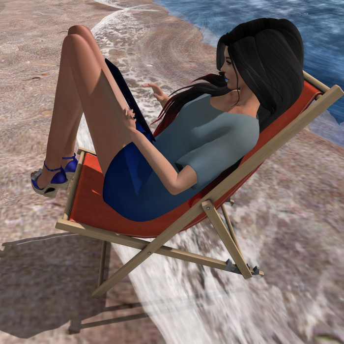 Nerdy Girl, Head Desk, AppleTini and MUA for Jersey Shore Event - by PetraLAlexander-Valerian©™