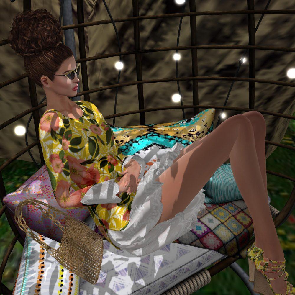 Amarelo Mango – Shirlei Set - by PetraLAlexander-Valerian©™