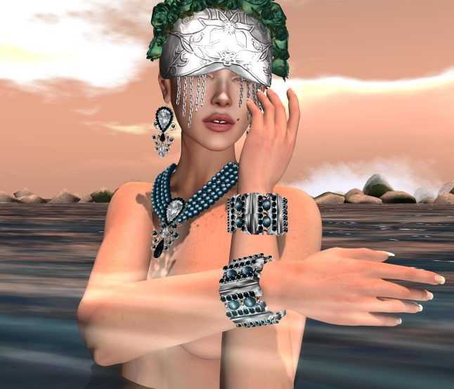 Zuri Jewlery, Una and Glitter Poses – by PetraLAlexander-Valerian©™