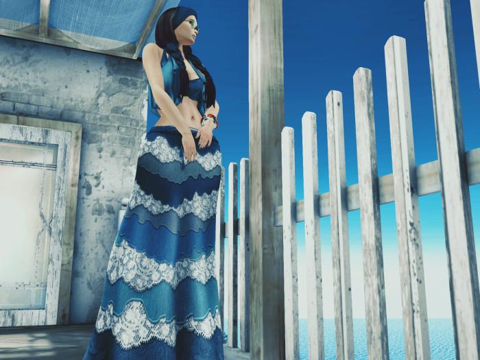 Petra Presents_ MOoH Alice Outfit Aqua